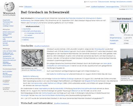 Bad Griesbach im Schwarzwald Matthias