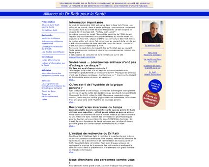 Dr rath.com Matthias