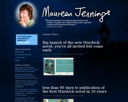 maureenjennings.com Maureen