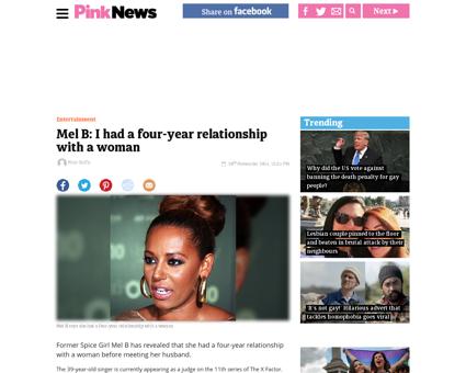 Mel b i had a four year relationship wit Melanie