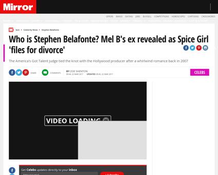 Who stephen belafonte mel bs 4814237 Melanie