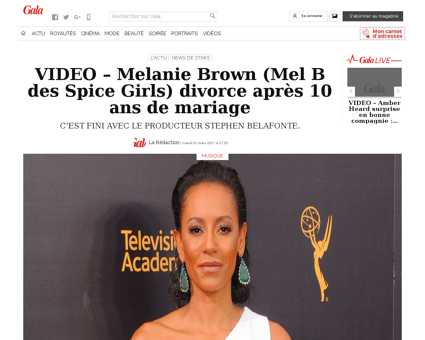 Video   melanie brown mel b des spice gi Melanie