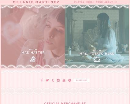 Melaniemartinezmusic.com Melanie