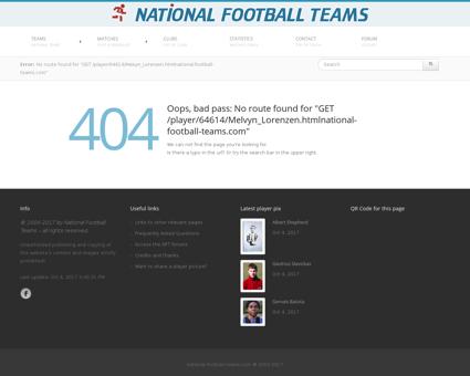 Soccerway.com Melvyn