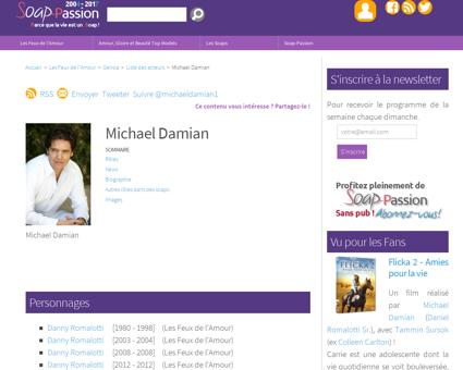 michaeldamian.com Michael