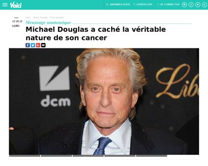 Michael douglas a cache la veritable nat Michael
