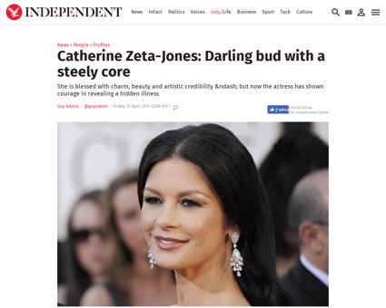 Catherine zeta jones darling bud with a  Michael