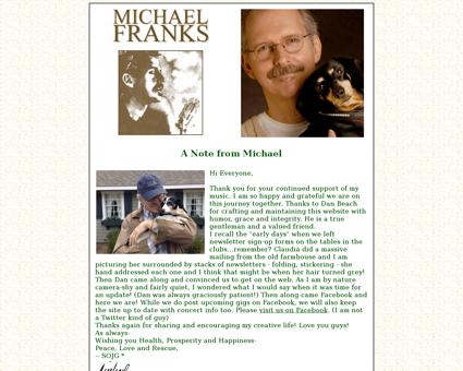 michaelfranks.com Michael