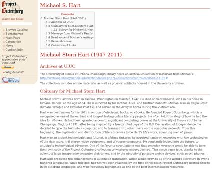 Michael S. Hart Michael