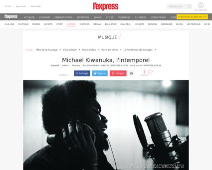 Michael kiwanuka talent a suivre en 2012 Michael