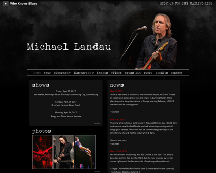 mikelandau.com Michael
