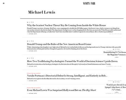 Michael lewis Michael