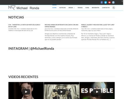 Michaelrondaoficial.com Michael
