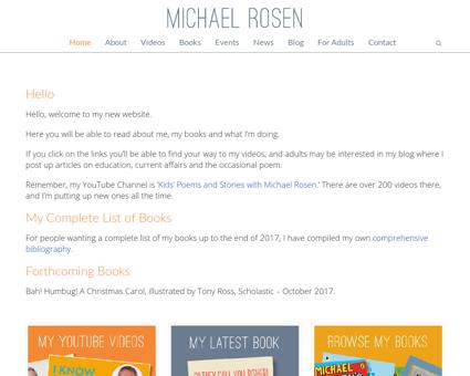 michaelrosen.co.uk Michael