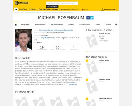 Fichepersonne gen cpersonne=64729 Michael