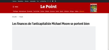 Les finances de l anticapitaliste michae Michael