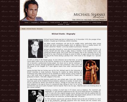 michaelshanks online.com Michael