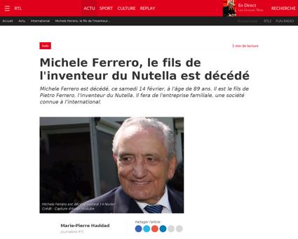 Michele ferrero Michele