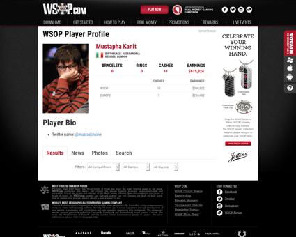 Playerprofile ?playerID=137658 Mustapha