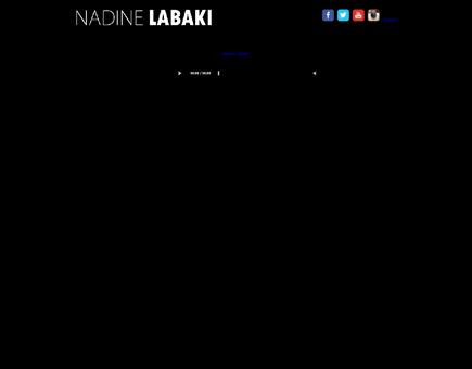 nadinelabaki.com Nadine