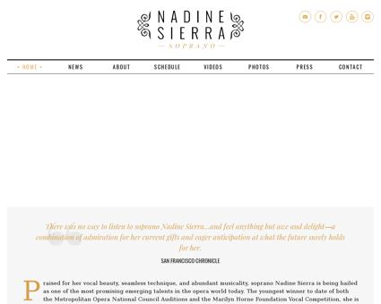 Nadinesierra.com Nadine