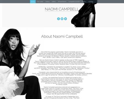 naomicampbell.com Naomi