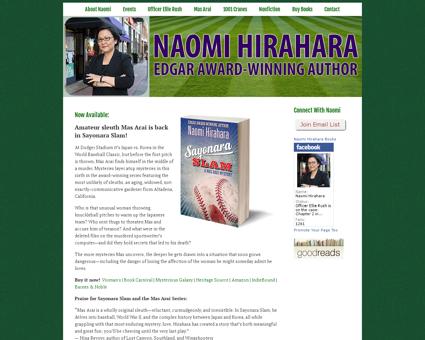 naomihirahara.com Naomi