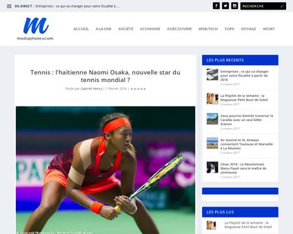 Tennis lhaitienne naomi osaka nouvelle s Naomi