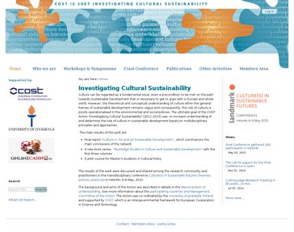 culturalsustainability.eu Nathalie