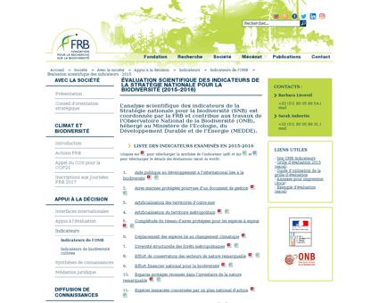 Evaluation francaise des ecosystemes et  Nathalie