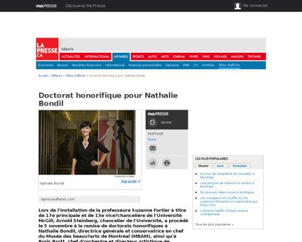 01 4708341 doctorat honorifique pour nat Nathalie