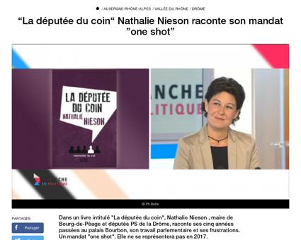 Deputee du coin nathalie nieson raconte  Nathalie