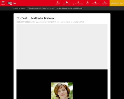 Et c est nathalie maleux Nathalie