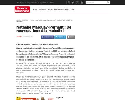 Nathalie marquay pernaut de nouveau face Nathalie
