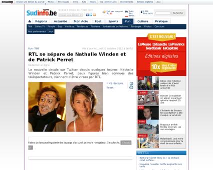 Rtl se separe de nathalie winden et de p Nathalie