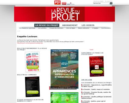 Projet.pcf.fr Patrice