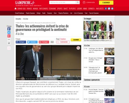 2015768 thales proglio deviendra preside Patrice
