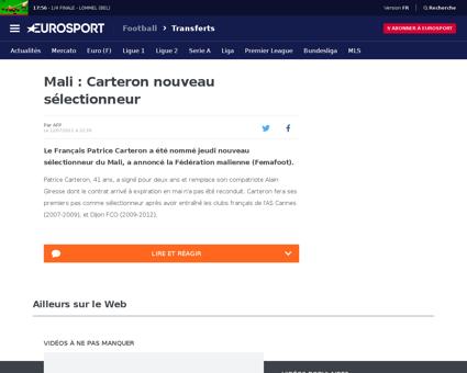 Patrice CARTERON
