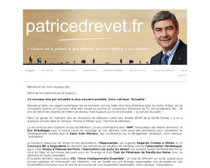 patricedrevet.fr Patrice