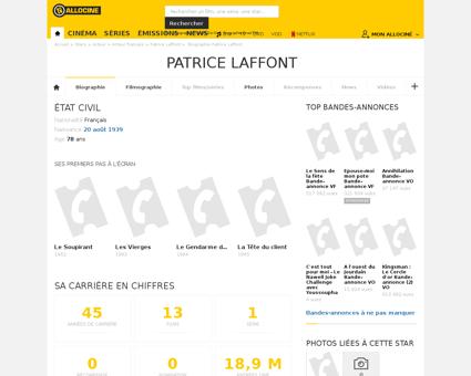 Biographie Patrice
