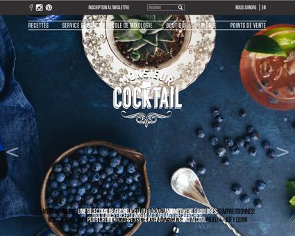 Monsieur cocktail.com Patrice