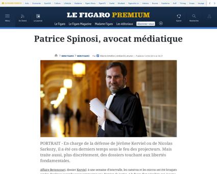10001 20140414ARTFIG00249 patrice spinos Patrice