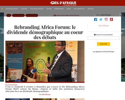 Oeildafrique.com Patrice