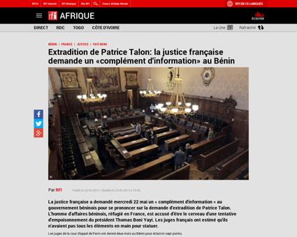 20130522 affaire talon justice francaise Patrice