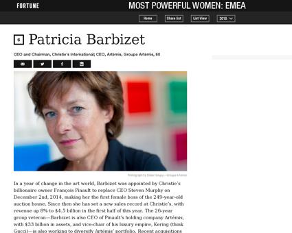 Patricia BARBIZET