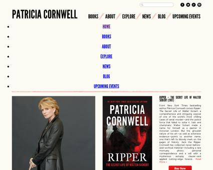 patriciacornwell.com Patricia