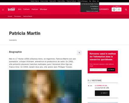 Personne patricia martin Patricia