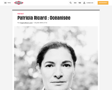 Patricia ricard oceanisee 1468408 Patricia
