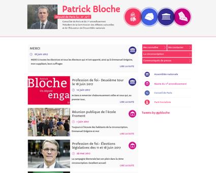 patrickbloche.org Patrick