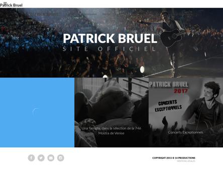 patrickbruel.com Patrick
